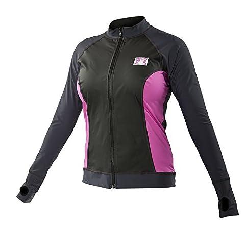 Body Glove Women's Light Weight Front Zip Exposure Jacket (X-Large)