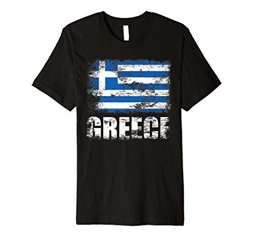Griechenland Flagge T-Shirt | Griechisch Flagge Tee Geschenk