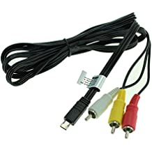 Cable vídeo VMC-15MR2 para Sony HDR-CX240 -CX900, HDR-MV1, FDR-AX100, HDR-AS15, HDR-PJ810 -PJ650 Cable video