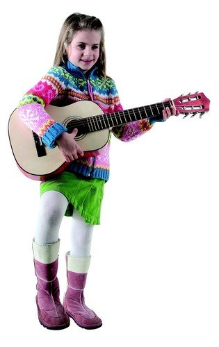 The Toy Company 9831638 - Holz-Gitarre - 4