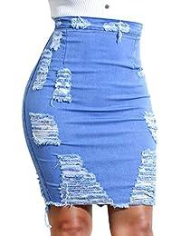 Suchergebnis auf für: Jeans Zerrissen Röcke