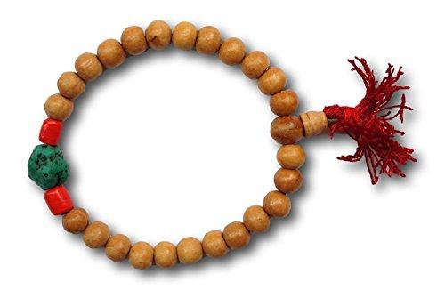 tibettan-malla-in-legno-preghiera-braccialetto-perline-pietra-rosso-mala-meditazione-buddista