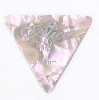 Confezione da 12 x Grande Triangolo Celluloide Plettri | Alice AP600L | per Acustica Elettrica Basso | 0.96mm