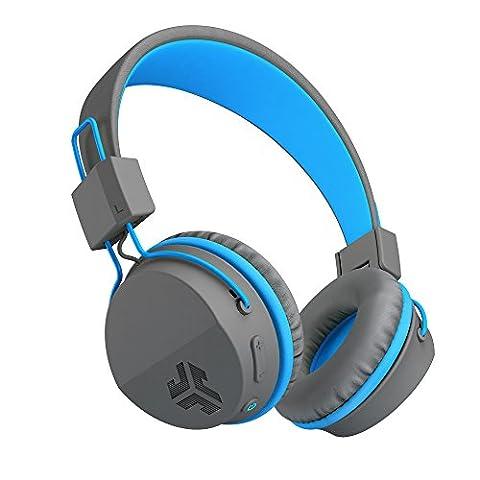JLab Audio JBuddies Studio Casque pliable sans fil Bluetooth–Kid Friendly la batterie de 13heures Bluetooth 4.1âges 6–16