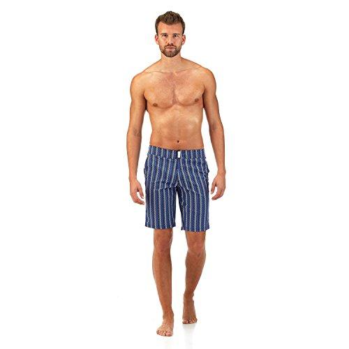 vilebrequin maillot de bain long coupe ajust e v fish homme mon maillot de bain. Black Bedroom Furniture Sets. Home Design Ideas