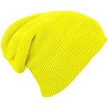 Gorrita flexible para hombre / mujer de punto de lana del sombrero del invierno