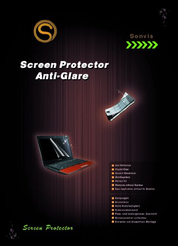 Anti Glare Screen Protector 15.6'' inch Laptop/Notebook [345x194mm] Universal anti reflection Test