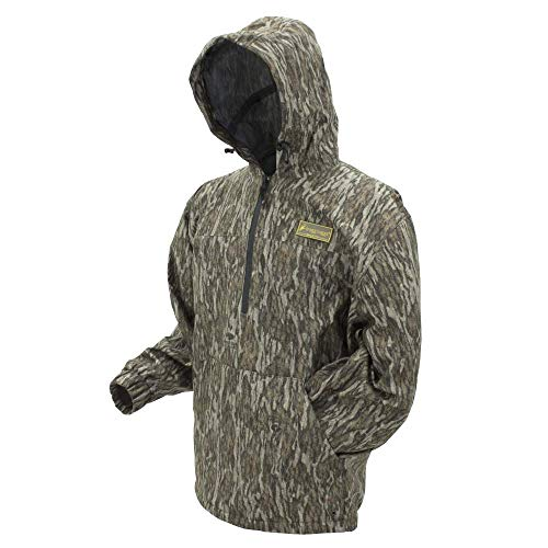 Frogg Togg Dead Silence Hundepullover, wasserdicht, gebürstet, Camouflage, Dead Silence Brushed Camo Pullover Hoodie, Mossy Oak Bottomland, Size XXX-Large, Mossy Oak Bottomland, XXX-Large