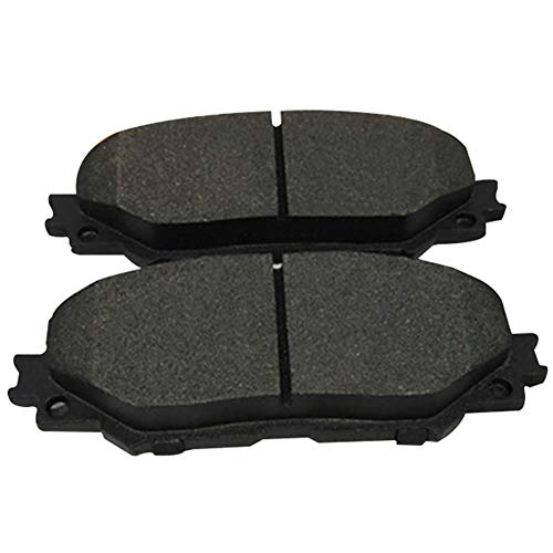 kaakaeu - Set di 4 pastiglie per Freno ASSE Anteriore in Ceramica, Resistenti all'Usura, per Toyota Coro