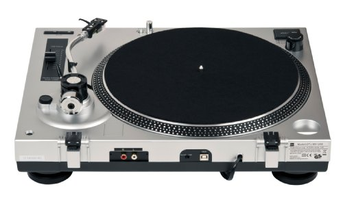 Dual DTJ 301 USB DJ-Plattenspieler silber - 6
