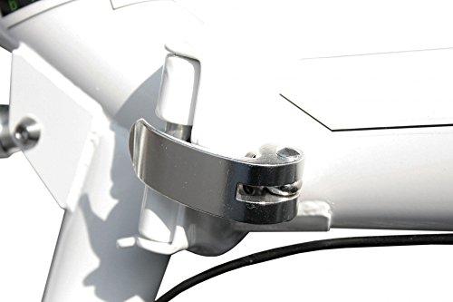 Stem Faltrad 20′ Zoll mit 6 Gang SHIMANO Gangschaltung und Aluminium Rahmen - 5