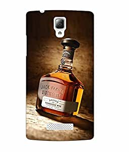 Case Cover Wine Printed Multicolor Soft Back Cover For Lenovo A2010