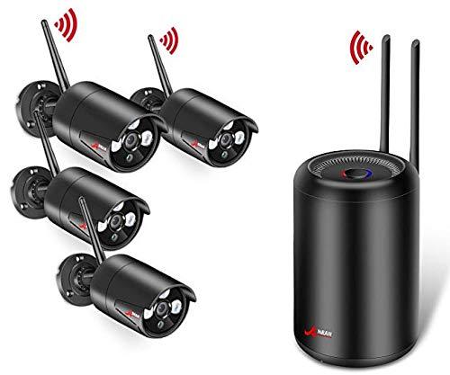 Kit Sistema de Cámaras CCTV Inalámbrica SWINWAY Sistema de Vigilanci