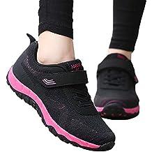 Zapatillas para Mujer,Invierno otoño Moda Zapatillas Deportivas de Malla Transpirables Antideslizantes para