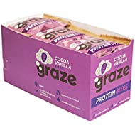 Graze Cocoa Vanilla & Oats Vegan Protein Bites 30 grams (Pack of 15)