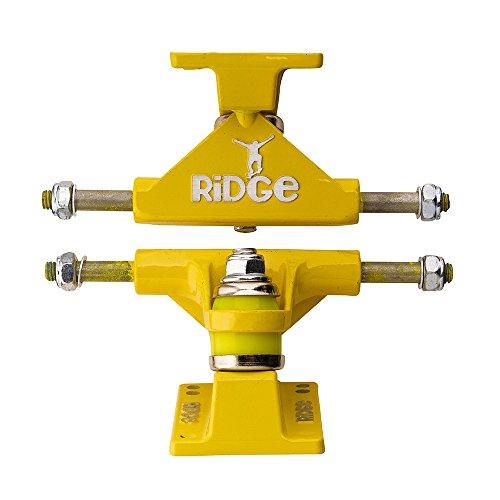 Ridge Skateboard Achsen für Mini Cruiser, Yellow, TRUCKS-PB-27