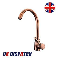 KING DO WAY Basin Mixer Sink Tap Faucet Copper Brass Single Handle for Kitchen Bathroom