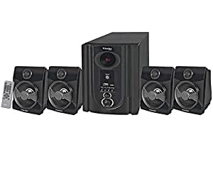 T-Series M 4009 BT 4.1 USB & D.FM Multimedia Speaker System with Bluetooth (Black)