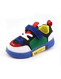 Calzado Deportivo Para Niños Zapatos Transpirables Para Niños y Niñas Zapatos Casuales De Viaje Al Aire Libre Zapatos Deportivos Ligeros De Malla Suave Para Caminar Para Niños De Entre 1 y 6 años De Edad (23, Verde)
