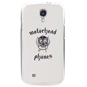 Motorheadphones 89846 Metropolis UnderCover Case for Samsung Galaxy S4 - 1 Pack - Retail Packaging - White/Black