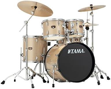 Tama Imperial Star Studio Set–ip50h6N de CHM Champagne Mist