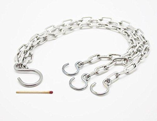 Schwerlastkette - Dreistrangkette - Blumenampel Ersatzkette - 47 cm & 77 cm - Hanna\'s Laden (47 cm)