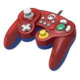 HORI Battle Pad Gamecube Style Controller - Mario Edition for Nintendo Switch Bild 1
