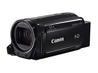 "Canon LEGRIA HF R78 - Videocámara (Pantalla táctil de 3"", Zoom óptico de 32x, estabilizador óptico, Full HD, WiFi), Negro (B01AJVN49I) 
