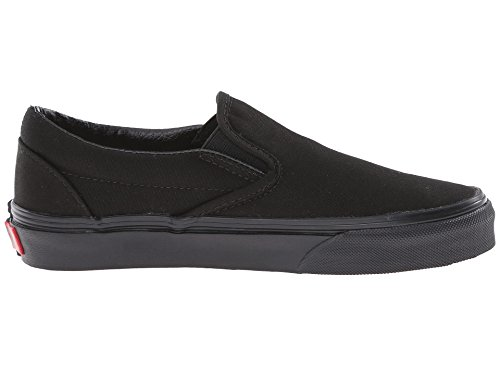 Vans U CLASSIC SLIP-ON, Sneaker Unisex Adulto Nero/Nero