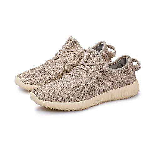 YAYADI Herren Sport Schuhe Gold Mesh Männer Sport Schuhe Sneakers Frauen Ultra Laufen Leichtathletik Wohnungen Jogging Fitness Schuhe Leicht, Wie Gezeigt, 41