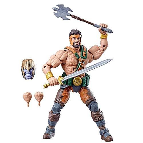 Kostüm Marvel Hercules - MA SOSER Marvel Avengers Endgame Legend Series - 6-Zoll-Hercules-Kinderspielzeugmodell, Hercules-Actionfigur, geeignet für Kinder ab 4 Jahren