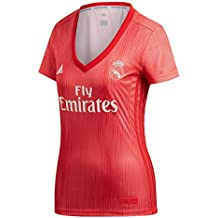 Adidas Real Madrid fútbol Third – Camiseta de Mujer, Mujer, Color Real Coral/