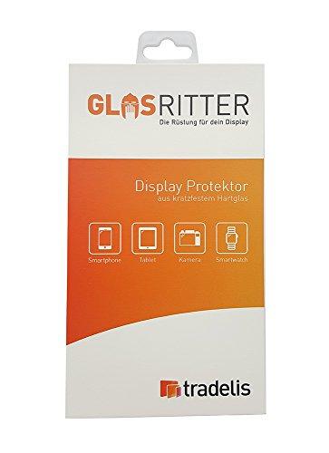 Tradelis Panzerfolie Schutzglas Echt-Glas Folie 9H Schutzfolie für Microsoft Lumia 550 Kratzfest & Klar