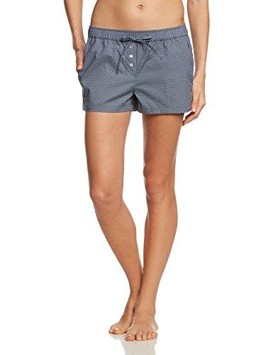 Marc O'Polo Body & Beach Damen Kurze Schlafanzughose SHORTS Blau (jeansblau 816)