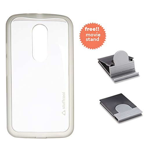 Stuffcool Marco Hard Back Case Cover for Motorola Moto G2 - Transparent Grey (MCMTG2-TGRY)