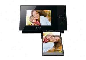 Sony DPP-F700/B Digitaler Bilderrahmen mit Fotodrucker (17,8 cm (7 Zoll) Display, 1 GB Speicher)