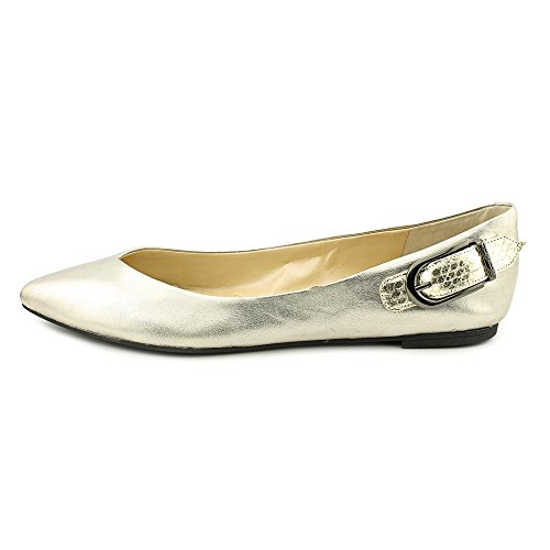 Marc Fisher Manette Cuir Chaussure Plate Pewter Multi