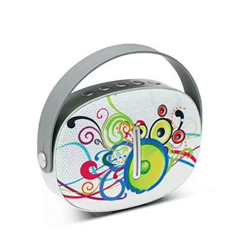 qiyanSpeakers Mini Portable Bluetooth Haut-Parleur sans Fil avec Radio FM pour Iphone X Sumsung Téléphone Haut-Parleur Bluetooth Mains Libres en Haut-Parleur Portable Autres