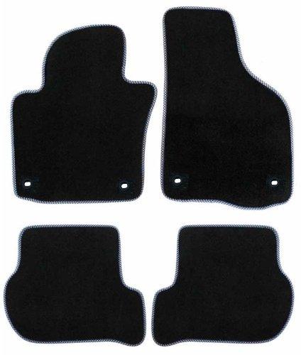 Preisvergleich Produktbild AMRAS0231 Passform Fussmatten Toyota Verso 5 Türig Baujahr April 2009 bis Januar 2013 (ohne Abdeckung für Mitteltunnel) mit Mattenhalter (Druckknopf+Haken) auf Fahrermatte T,882536,#124 MH