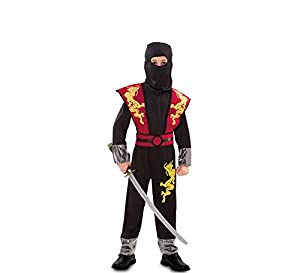 Fyasa 706195-t03dragón ninja disfraz, tamaño mediano