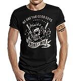 Rockabilly Geschenk T-Shirt zum 50. Geburtstag - Born in 1970 - We Are The Good...