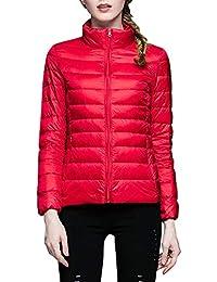 rivenditore online 17f89 64b8b Amazon.it: piumino rosso donna - Donna: Abbigliamento