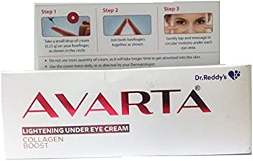 Dr Reddys Avarta Under Eye Cream