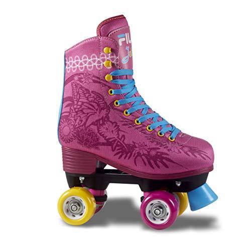 Fila Skates Juliet, Pattini A Rotelle Donna, Rosa/Azzurro, 38