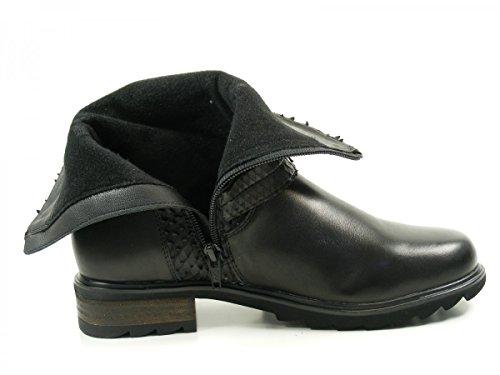 Spm Blackfish Ankle Boot, Bottines à doublure froide femme Schwarz