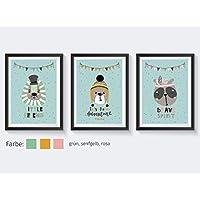 Kinderbilder Tiere Set Kinderzimmer Poster Löwe Kinderzimmer Poster Bär Kinderzimmer Poster Jungen Bilder Kinderzimmer Jungen Bilder Kinderzimmer Mädchen