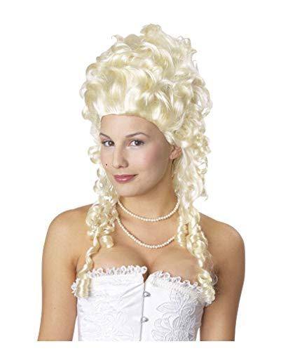 Weißblonde Marie Antoinette Perücke - Historische Faschingsperücke