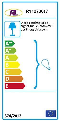 Reality Leuchten Kronleuchter Lüster 3-flammig / aus Acryl in multicolour / 3x E14 maximal 40 W ohne Leuchtmittel / ø: 40 cm R11073017 - 2