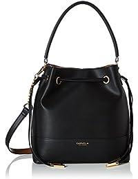 Carvela Damen Phoebe Bucket Bag Tote, Schwarz (Black), 12 X 28 X 27 cm