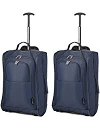 Set de Deux Bagage à Main Valise à roulettes Bagage de Cabine